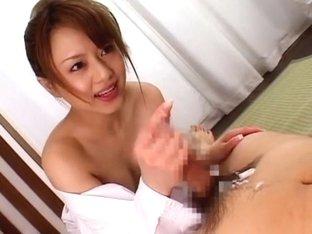 Hottest Japanese whore Akiho Yoshizawa in Best Sports, Blowjob/Fera JAV scene