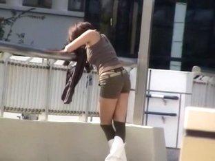 Exotic Japanese chick Nana Saeki in Amazing Big Tits, Softcore JAV scene