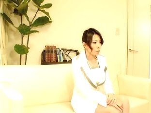 Interview with japanese broad ends up with a fuck session