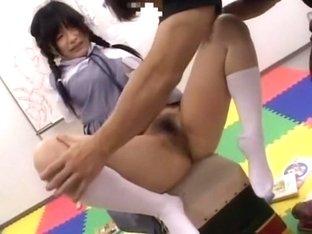 Horny Japanese chick Hitomi Fujiwara, Jun Mamiya in Exotic Compilation JAV video