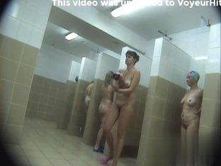 Hidden cameras in public pool showers 158
