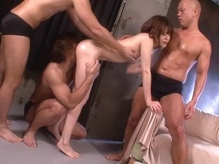 Horny Japanese model Mai Satsuki in Hottest skinny, group sex JAV video