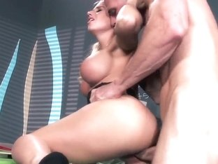 Johnny Sins gets some extra lessons form Sammie Spades