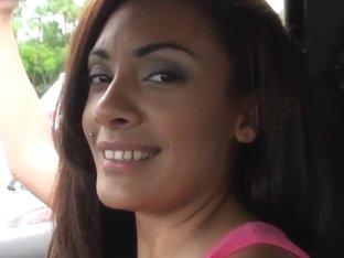 Josh films hot ass whore Layla Terrace in pov
