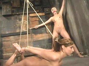 Sasha Sparks and Lacie Hart
