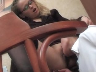 LacyNylons Movie: Gloria F and Susanna