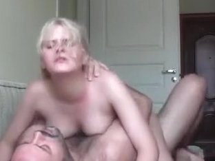 Adorable blond receives drilled by the boss.