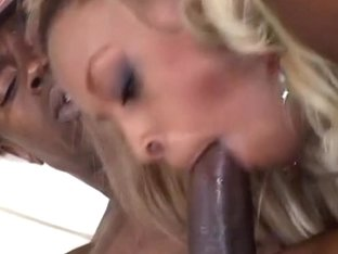 Vixen Fyre Tries To Please Black Cock