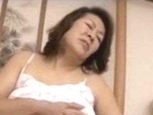 Mature Japanese whores enjoying stiff peckers