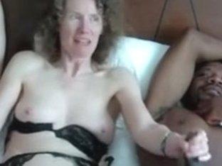 Linda Stroking two cocks