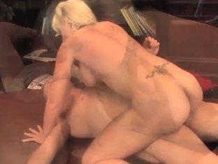 Heidi Mayne gets facial after hardcore fuck