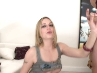 Roxy Rox Jerks The Cock!
