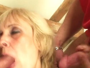 2 football fans group sex old doxy