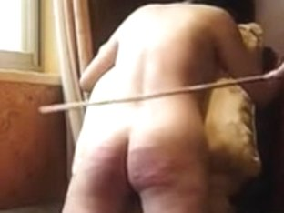 Caning a Chinese beauty