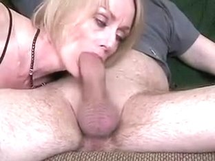 50yr old aged wife shows her blowing experience