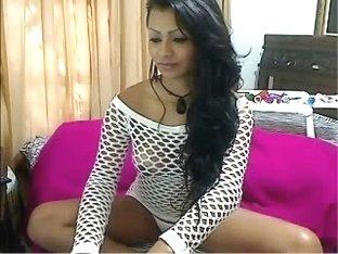 A hot amateur on webcam