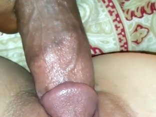 Beautiful wife sucks and fucks for creampie