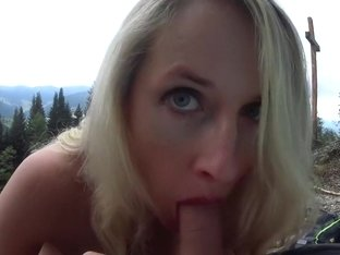 Miss Mia Incredible Naked Blowjob