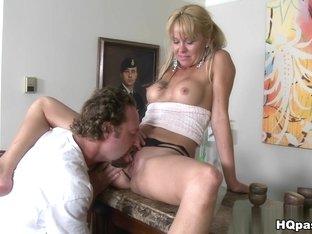 Crazy pornstar in Fabulous Brunette, Blowjob sex movie