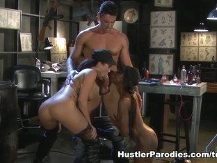 Fabulous pornstar London Keyes in Incredible Big Tits, Hardcore sex scene