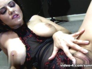Fabulous pornstar Sunny Leone in Incredible Lingerie, Pornstars adult movie