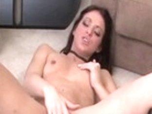 Exotic pornstar Ameara LeVay in hottest brunette, masturbation porn movie