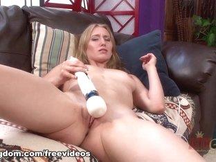 Fabulous pornstar Riley Reynolds in Hottest Blonde, Dildos/Toys xxx scene