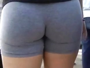 Beautiful ass in the shorts