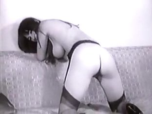 Lady Shows All 92 (Black and White Vintage)