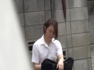 I love this hot Asian schoolgirl and her tits sharking video