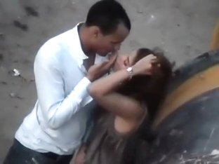 Love story caught by a voyeur
