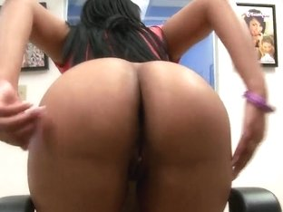 Brown sexy Carmen Michaels with big natural tits