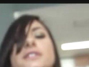 Busty Latina hottie nailed and sprayed