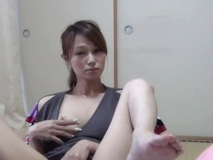 Japanese ho cums rubbing