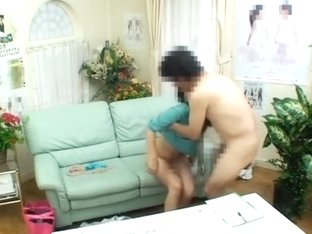 Voyeur sex video with japanese prick drilling a tight twat