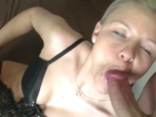 German Footjob and Oral Stimulation in Stockings