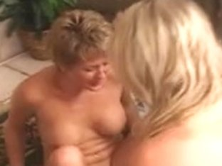 Our Horny BI Daughter learns how to eat cunt!