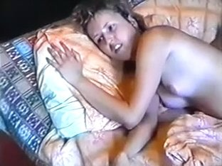 My curly blonde wife acquires her love tunnel group-screwed on the couch