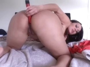 Fucking my wet cunt with a sex toy