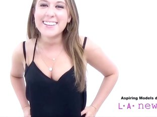 CUTE TEEN SUCKS COCK AT CASTING AUDITION