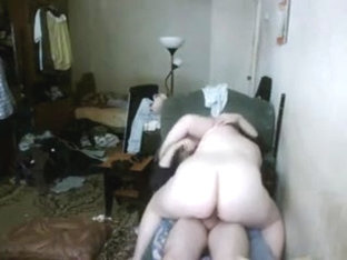 Bbw fucks In Untidy Bedroom
