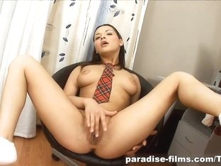 Best pornstar in Hottest Dildos/Toys, Solo Girl adult clip