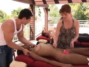 Exotic pornstars in Fabulous Massage, Reality xxx scene