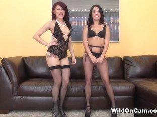 Incredible pornstars Onyx Muse, Megan Rain in Exotic Small Tits, Lesbian xxx video