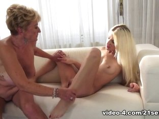 Fabulous pornstar in Hottest Hairy, Blonde sex clip