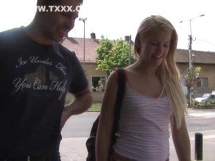 Horny pornstar Zorah White in exotic college, blonde xxx movie