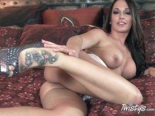 Best pornstar in Exotic Masturbation, Big Tits porn scene