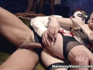 Crazy pornstar Samantha Bentley in Horny Medium Tits, Threesomes sex clip