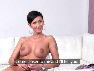 Best pornstar in Horny Lesbian, Redhead sex clip