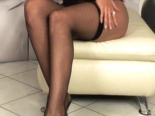 Incredible pornstar Larissa Dee in amazing lingerie, solo porn video